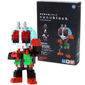 《 Nano Block 迷你積木 》【 假面超人系列 】NBTN-007 假面騎士新2號╭★ JOYBUS玩具百貨