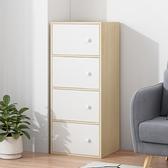 簡易收納櫃子抽屜木質臥室床頭置物櫃家用整理櫃客廳衛生間儲物櫃