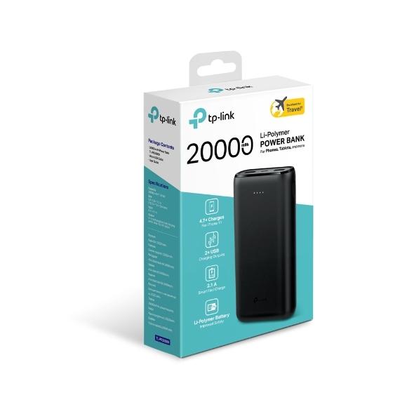 TP-LINK TL-PB20000 20000mAh 鋰聚合行動電源 Ver:2.0 宅配免運