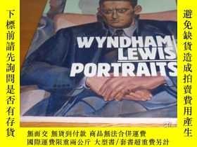 二手書博民逛書店Wyndham罕見Lewis Portraits 溫德漢姆劉易斯