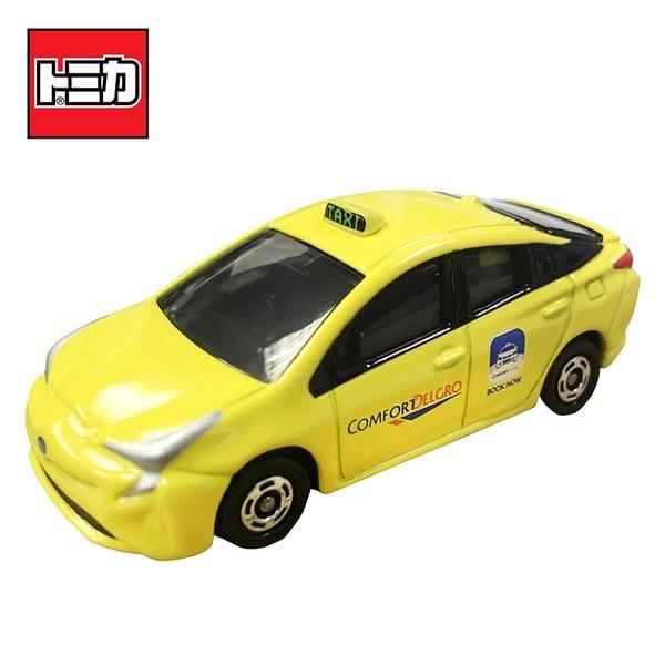 【日本正版】TOMICA 亞洲限定 新加坡TAXI 黃色款 計程車 玩具車 Toyota Prius 多美小汽車 - 112884