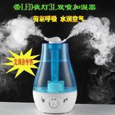 超聲波加濕器110V220V家用雙噴靜音臥室大容量辦公室空調母嬰適用gogo購