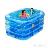 充氣泳池 新生嬰兒童加厚高環保家用寶寶小孩洗澡浴池 AW4148【棉花糖伊人】