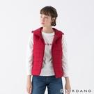 【GIORDANO】女裝素色鋪棉連帽背心 - 24 標誌紅