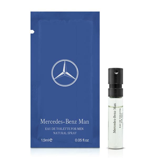 Mercedes Benz 賓士 王者之星男性淡香水針管(1.5ml)【ZZshopping購物網】