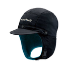 [Mont-Bell]  NORTH POLE CAP保暖覆耳檔風帽 黑/L (1118493BK)