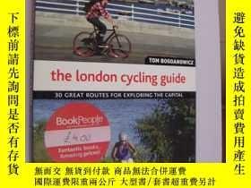 二手書博民逛書店The罕見london cycling guide:30 gre