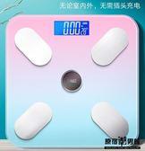 電子 體重秤 人體 家用 小型 精準 充電 家庭 稱重計 體脂稱女