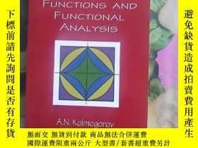 二手書博民逛書店Elements罕見of the theory of functions and functional analy