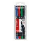 【奇奇文具】 STABILO 思筆樂 843/4色M/1.0mm永久性萬用油性筆