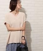 針織毛衣 背心 畦編 開衩 日本品牌【coen】