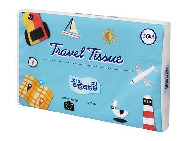 韓國 JJtissue 旅行面紙(56抽)【小三美日】衛生紙