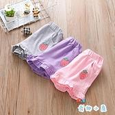 女童休閒小短褲純棉寶寶夏季外穿百搭沙灘褲【奇趣小屋】