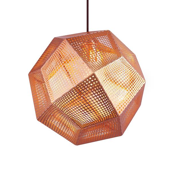 英國 Tom Dixon Etch Shade Suspension Lamp 32cm 金磚 吊燈