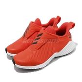 adidas 慢跑鞋 FortaRun AC 橘 黑 童鞋 中童鞋 運動鞋 【PUMP306】 G27164