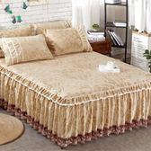 床裙保暖床罩單件韓式雙人5*6尺床天鵝絨套床包組·樂享生活館