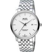 MIDO 美度 永恆系列80小時天文台認證矽游絲機械手錶 M0274081101100