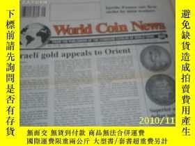 二手書博民逛書店World罕見Coin News(Vol.20,No.15)(J