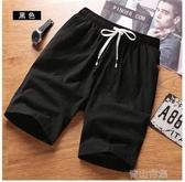 夏季男士短褲五分褲男士短褲子夏季外穿棉麻五分褲寬松青山市集
