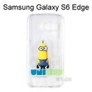 小小兵透明軟殼 [背影] Samsung G9250 Galaxy S6 Edge【正版授權】