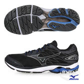 美津濃 MIZUNO 男跑鞋 WAVE RIDER 20 (黑) 雲波浪款路跑鞋 J1GC170351【 胖媛的店 】