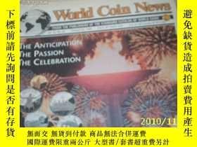 二手書博民逛書店World罕見Coin News(Vol.22,No.22)(O