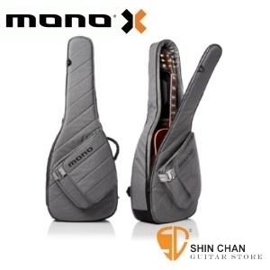 MONO M80 新款民謠吉他袋 Sleeve 灰色/輕量木吉他袋-軍事化防震防潑水等級 【M80-SAD-ASH】