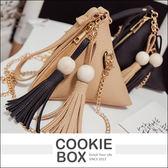 韓國 粽子 手拿包 灰色 黑色 黃色 粉色 火紅 流行包 手提 包包 隨身包 約會包 *餅乾盒子*