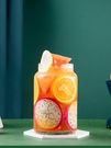 網紅創意水果茶杯子