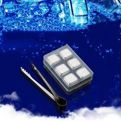 威佰士304不銹鋼冰粒6顆裝 (送冰夾)