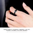 戒指 個性霸氣戒指男士鋼食指環韓版潮男單身戒子飾品配飾尾戒可轉動 店慶降價