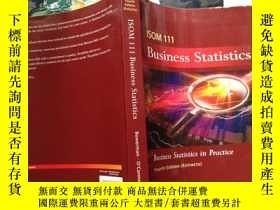 二手書博民逛書店business罕見statistics in practice