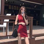 夏季性感夜店女裝韓版連身裙女夏顯瘦chic港味背心裙子氣質短裙潮【櫻花本鋪】