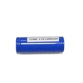 【GQ247】鋰電池-17500 充電電池 3.7V 1100mah鋰電池 帶防爆閥 EZGO商城