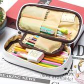 筆盒筆袋筆筒正韓多功能簡約鉛筆袋男女孩初中學生創意正韓小學生