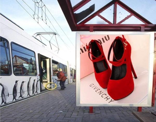 高跟鞋超高跟細跟絨面淺口女鞋綁帶圓頭防水臺時尚大碼女鞋春季新品 JUST M