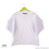 【INI】注目寬袖、輕盈柔軟觸感寬袖上衣.白色