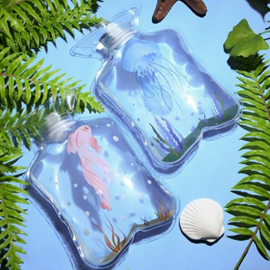 ◄ 生活家精品 ►【P519】卡通迷你加厚PVC熱水袋 便攜 可注水 暖水袋 外出 戶外 禦寒