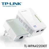 全新 TP-Link TL-WPA4220KIT Wi-Fi 電力線 網路橋接器 雙包組 (Kit)