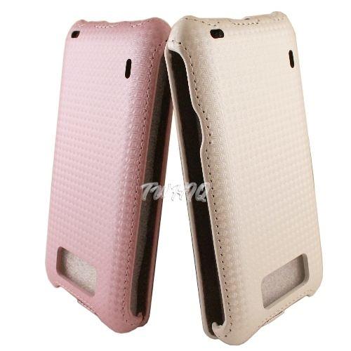 HTC Titan 泰坦機(X310E) 下掀式/掀蓋式皮套 鑽石紋限定款◆贈送! 抽拉式手機套◆