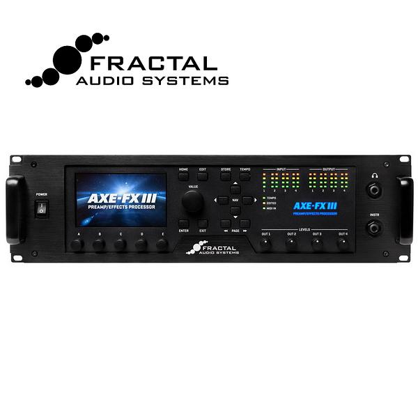 [唐尼樂器] Fractal Audio Axe-Fx III 超強大錄音室級電吉他綜合效果器(另有 FM3)