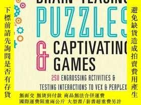 二手書博民逛書店Brain-Teasing罕見Puzzles & Captiva