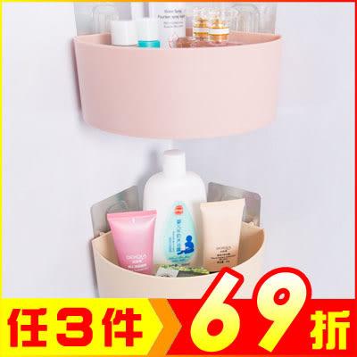 浴室三角置物架 廚房收納架瀝水角架【AE04253】大創意生活百貨