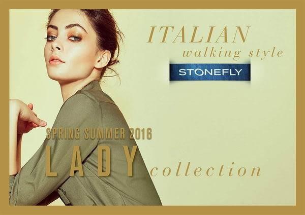 義大利 STONEFLY ROMY 3 羅咪亮眼休閒舒適鞋106215 126 復古藍 UK35~39