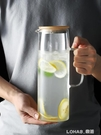 冷水壺玻璃瓶扎壺耐熱高溫家用茶壺涼白開水杯北歐大容量水瓶套裝 樂活生活館
