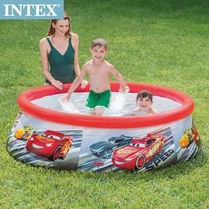 INTEX CARS麥坤-簡易裝EASY SET游泳池(28103)
