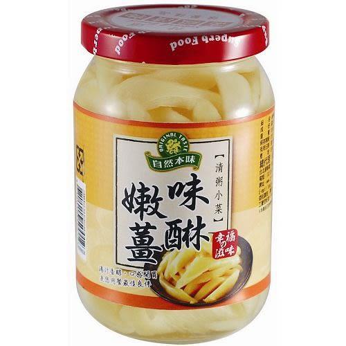 自然本味清粥小菜-味醂嫩薑380g【愛買】