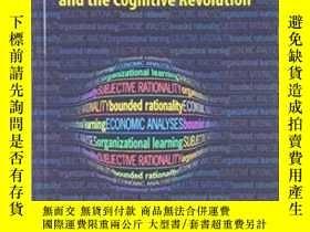 二手書博民逛書店Economics,罕見Bounded Rationality And The Cognitive Revolut