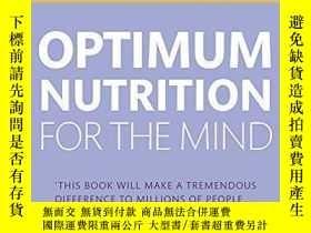 二手書博民逛書店Optimum罕見Nutrition For The MindY256260 Patrick Holford
