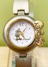 【震撼精品百貨】米奇/米妮_Micky Mouse~日本迪士尼米奇鐵錶/手錶-圓銀#21601